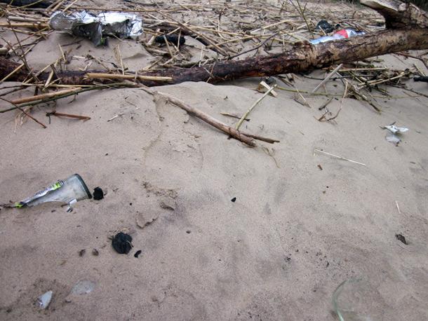 Keep the beach clean!