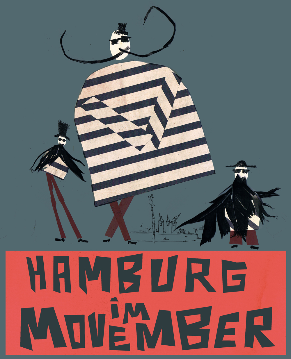 Hamburg im Movember