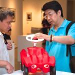 Vernissage der Ausstellung im Today Art Museum, Peking, 4. Juli 2013 Foto: Stefanie Thiedig Copyright: Deutsche Reihenhaus AG
