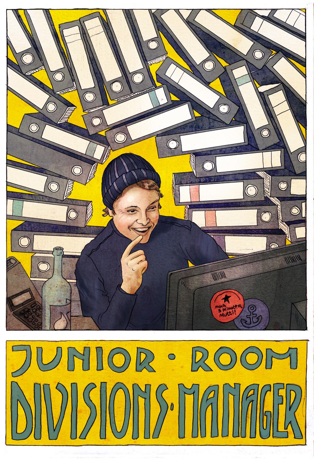Juniorroomdivisionsmanager.