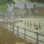 Edouard Vuillard - Blick auf die Binnenalster