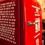 Superbude Hotel Hostel Lounge Kühlschrank Seite - neuer Kühlschrank