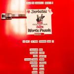 Superbude Hotel Hostel Lounge Kühlschrank Tür - Worte Puzzle
