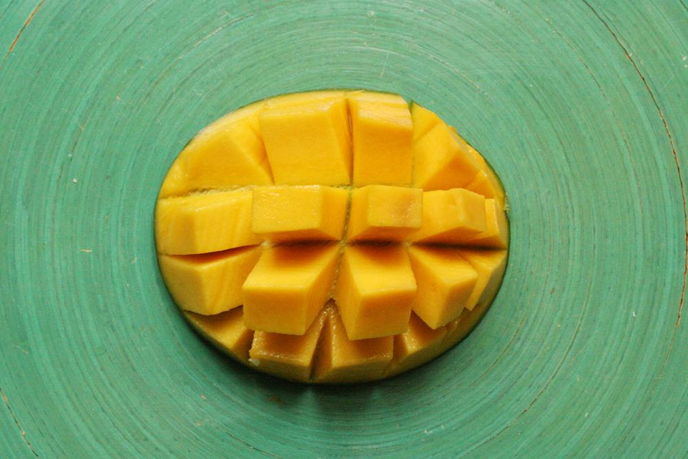 der exotische Mango-Igel