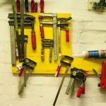 unterirdisches Werkzeugarsenal