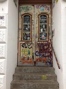 typische St. Pauli-Tür