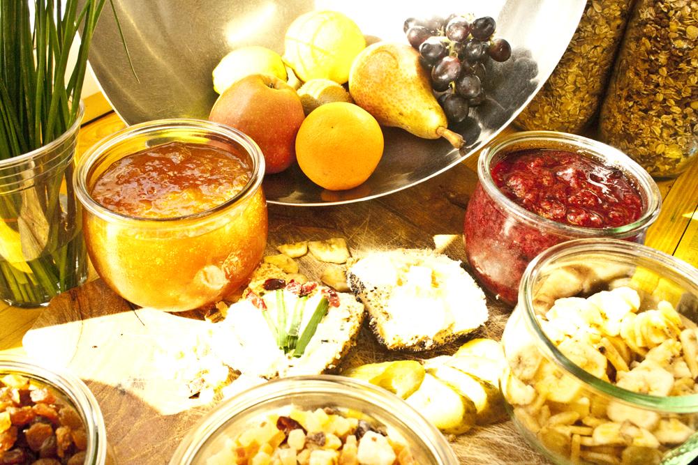 Frühstück zum Selbstbedienung auf Vertrauensbasis