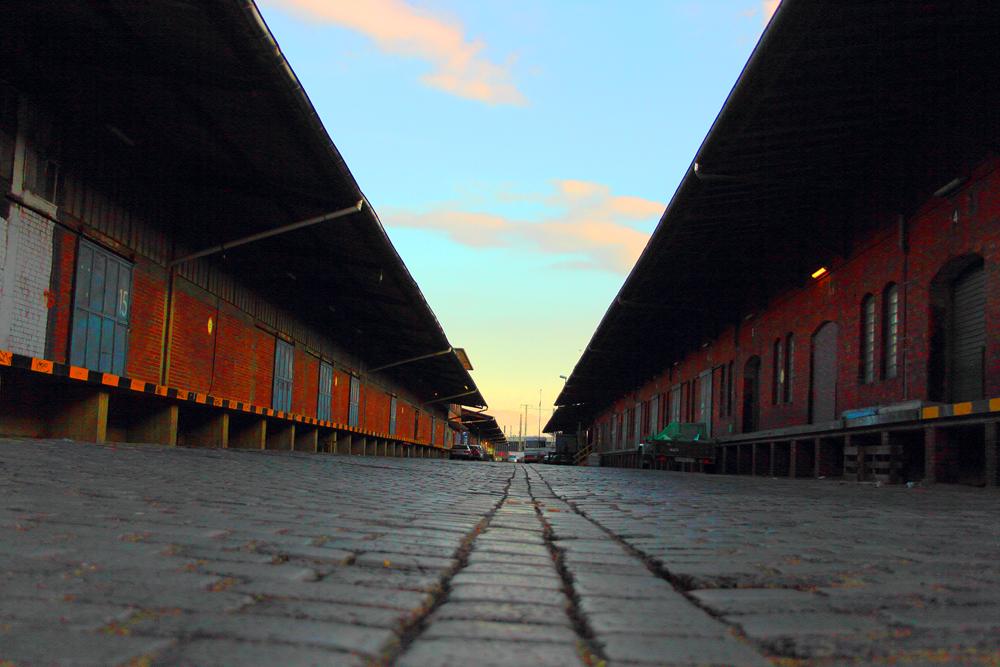 Das ehemalige Bahngelände