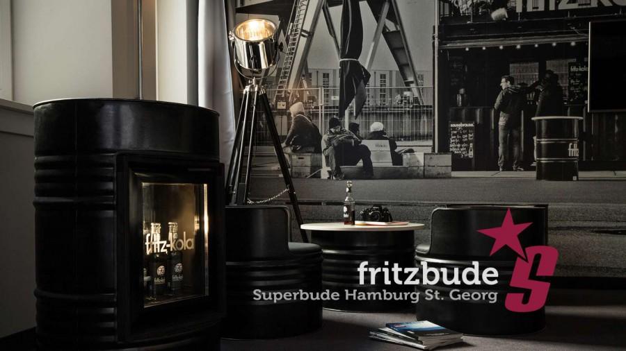 Superbude Hamburg Hotel Hostel fritz-bude 4