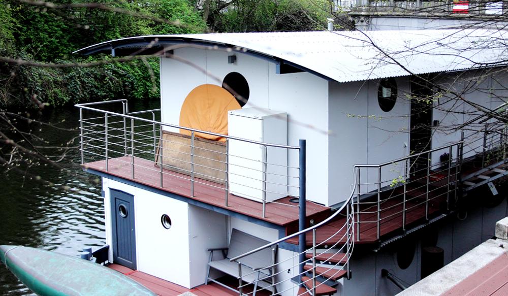 Haus als Boot