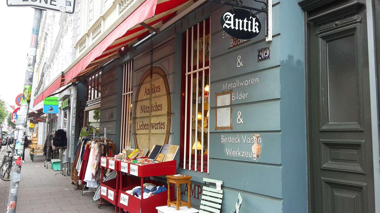 Hamburgs kleinstes Kaufhaus