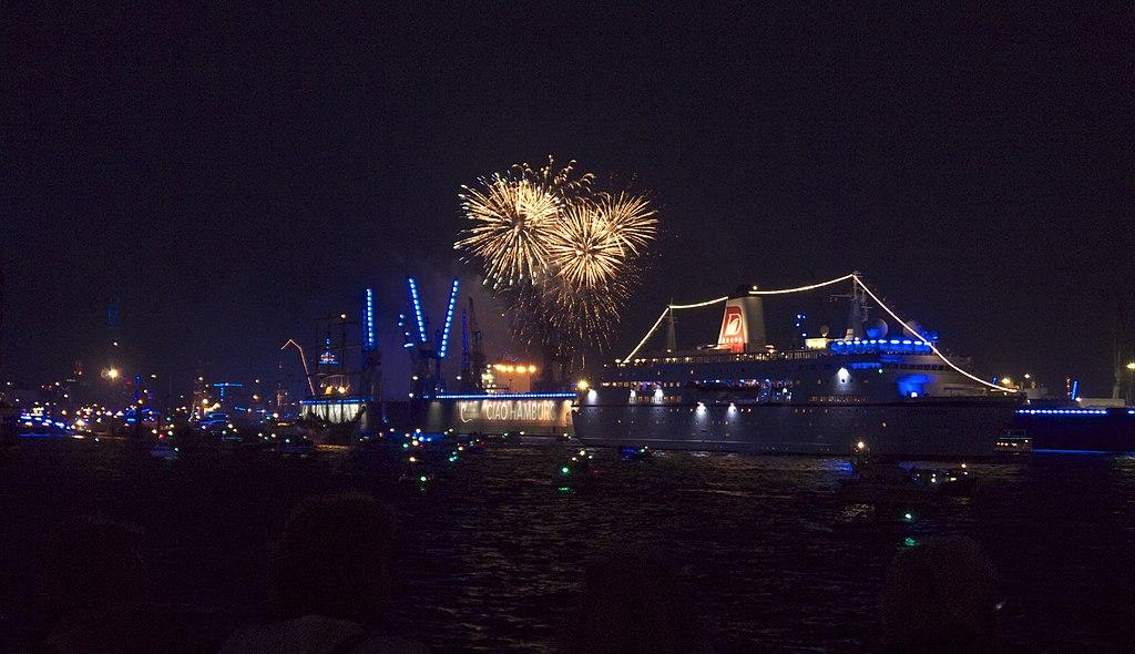 Feuerwerk Hamburger Hafen / Foto: Dav Hir