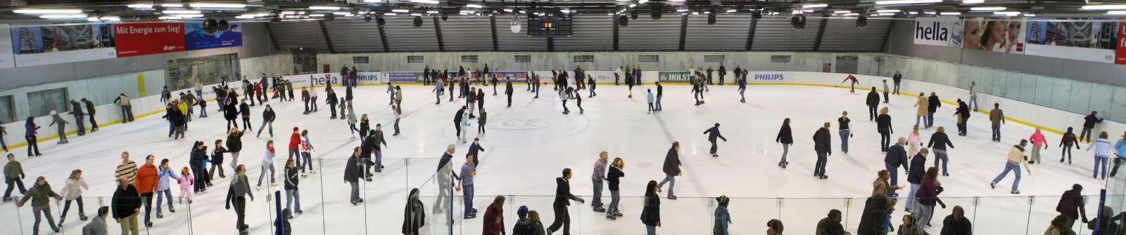 Eishalle Panorama