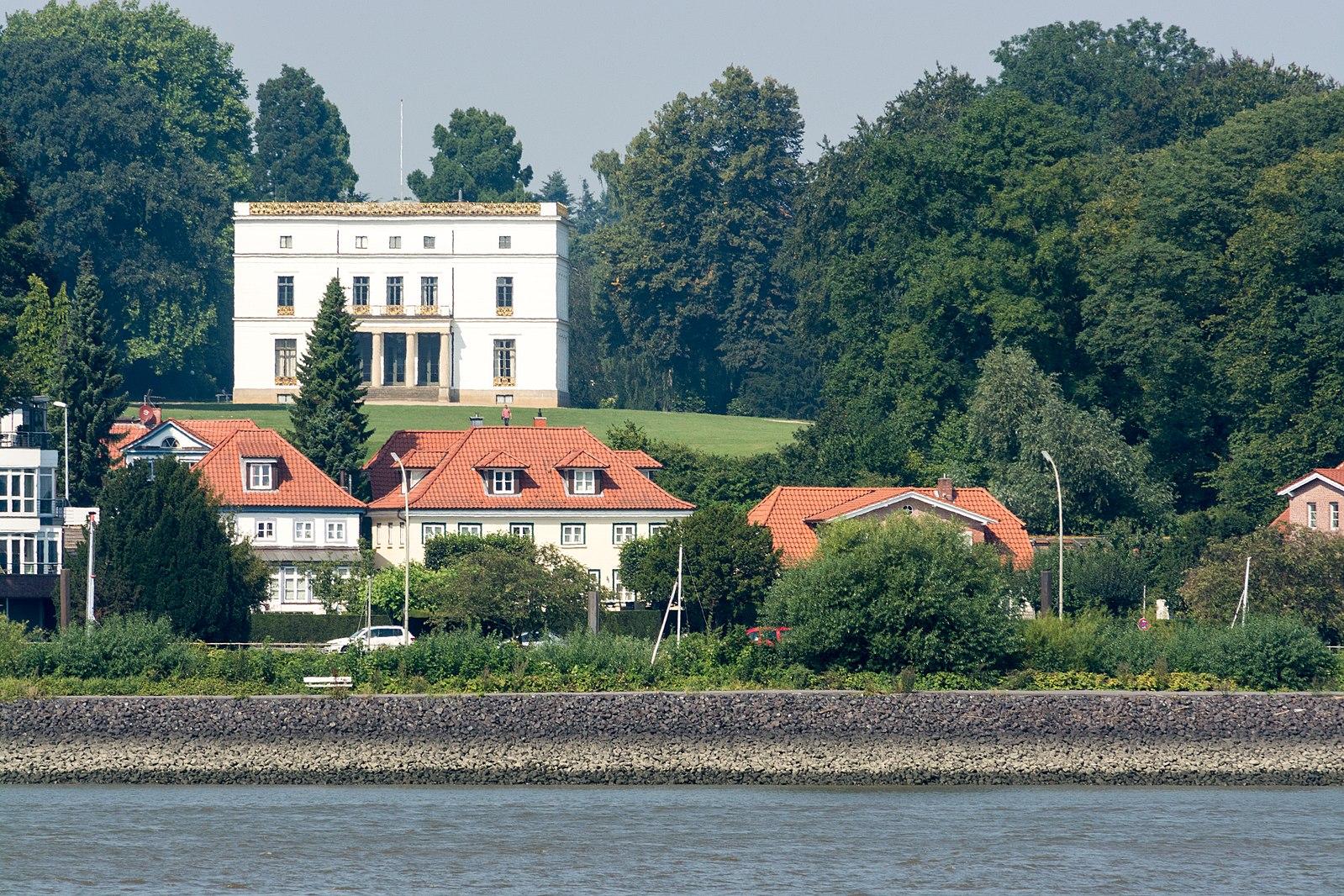Jenisch Haus / Foto: Ajepbah