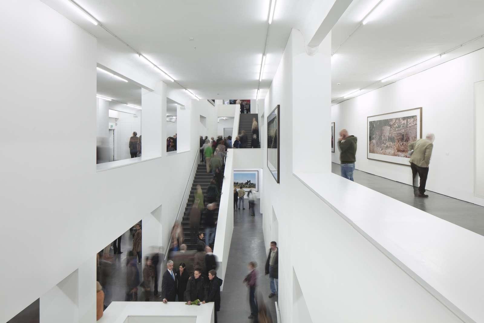 Innenansicht Sammlung Falckenberg - Deichtorhallen Hamburg während der Ausstellung von WIM WENDERS.