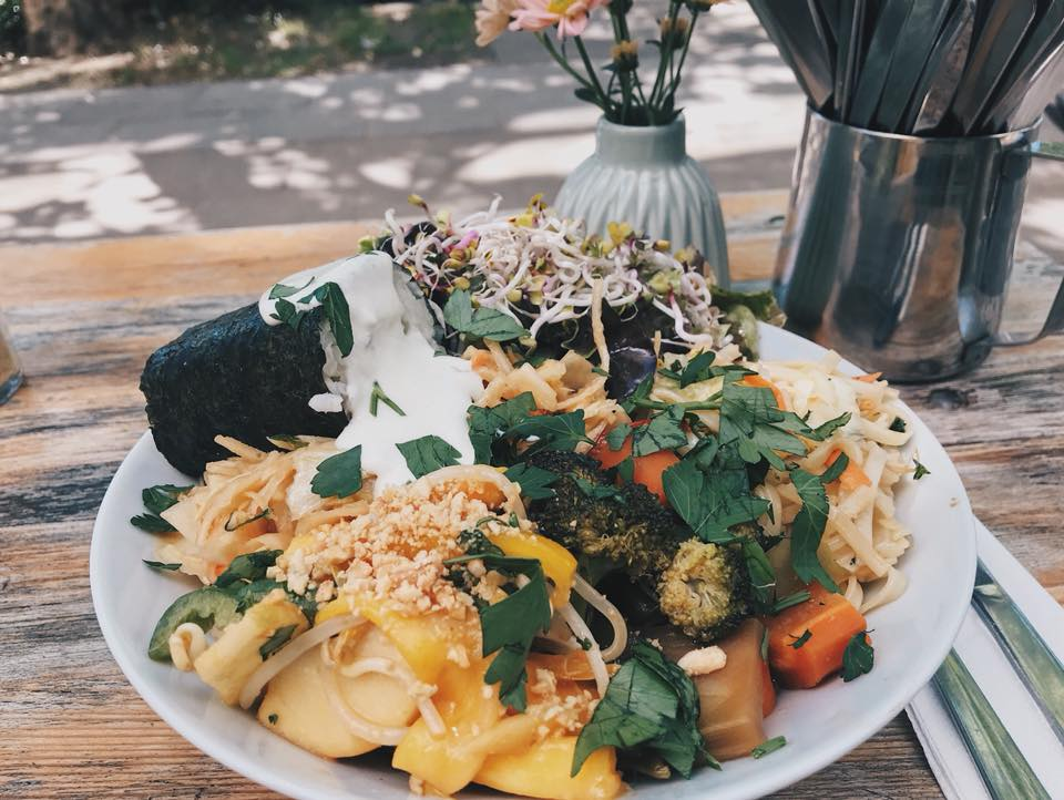 Super Salat bei Happenpappen