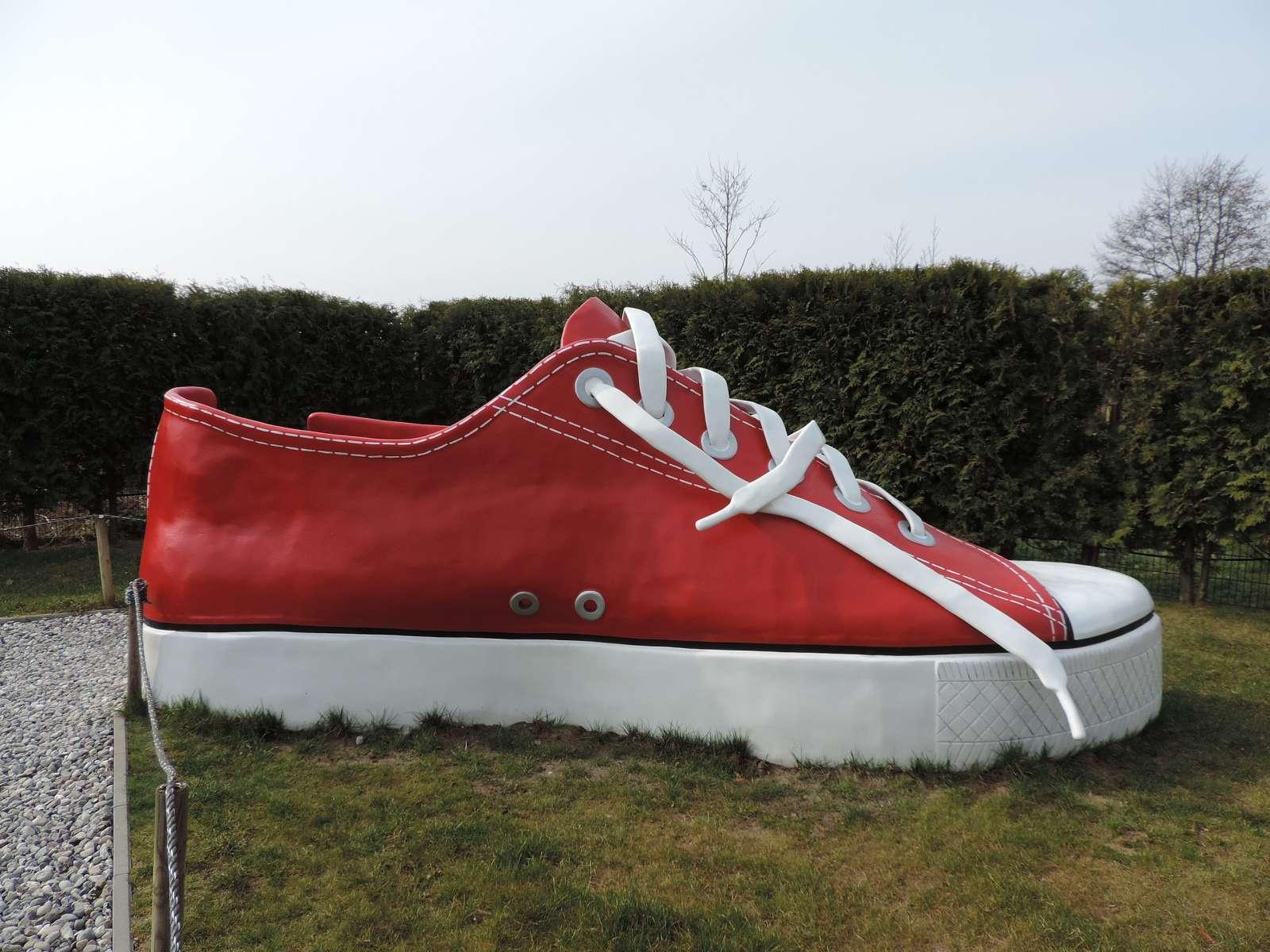 Sneaker in der Trassenheide / Foto: Löwe 48