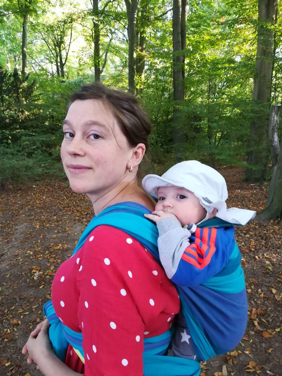 Mit Baby im Stadtpark