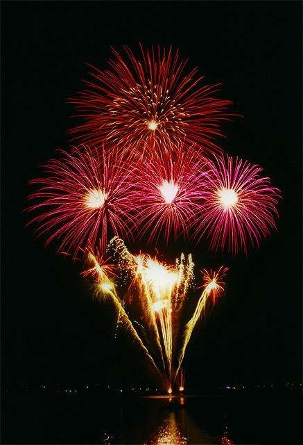 Feuerwerk Alster / Foto: Florian Rommerskirchen