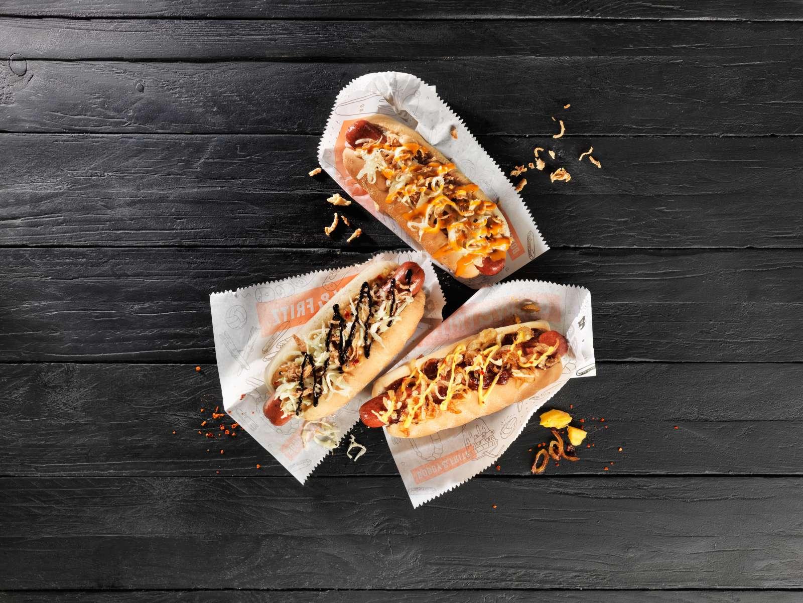 Feine Hot Dogs von Bobby&Fritz