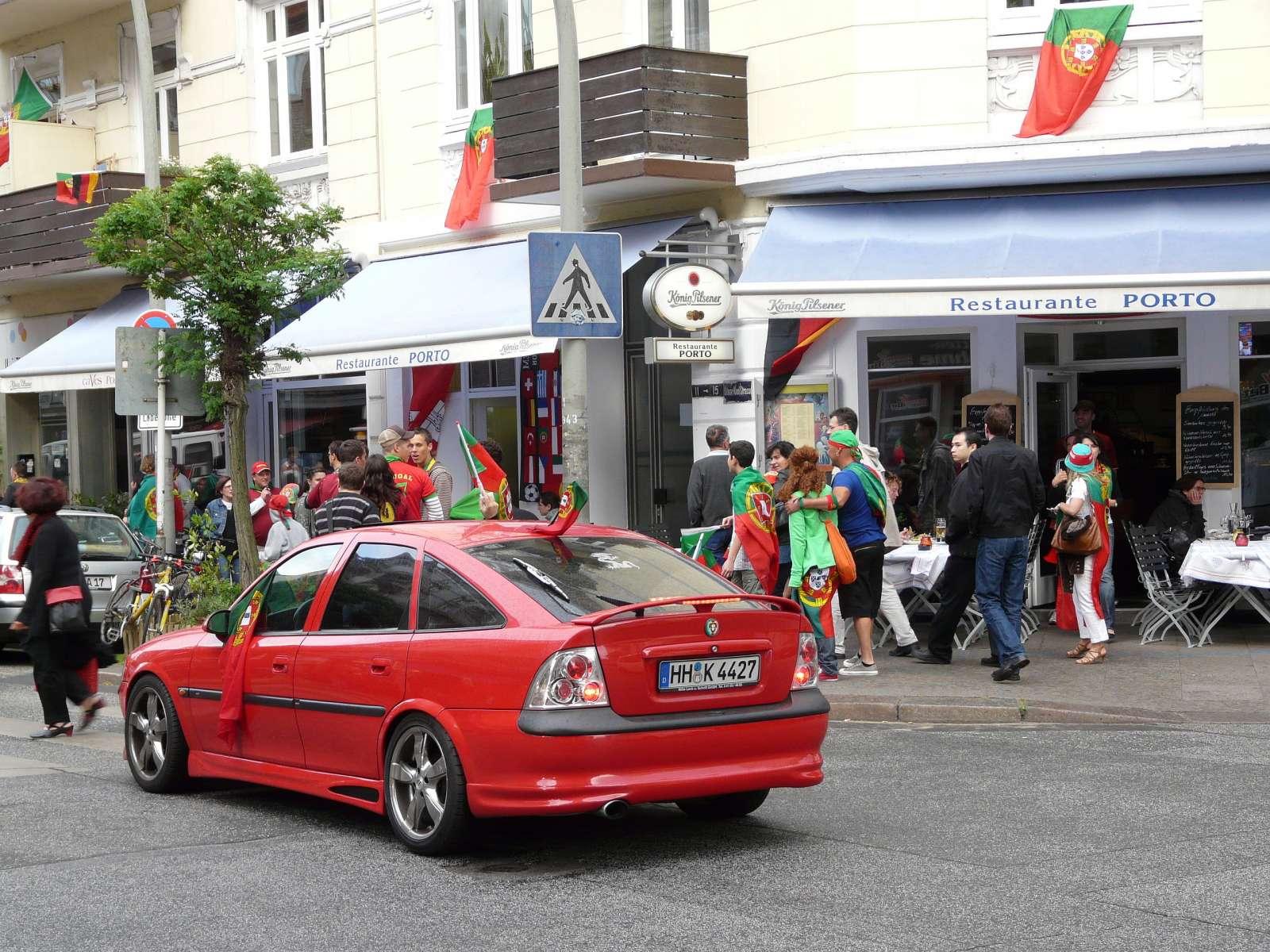 Portugiesenviertel (WM 2008) / Foto: Northside