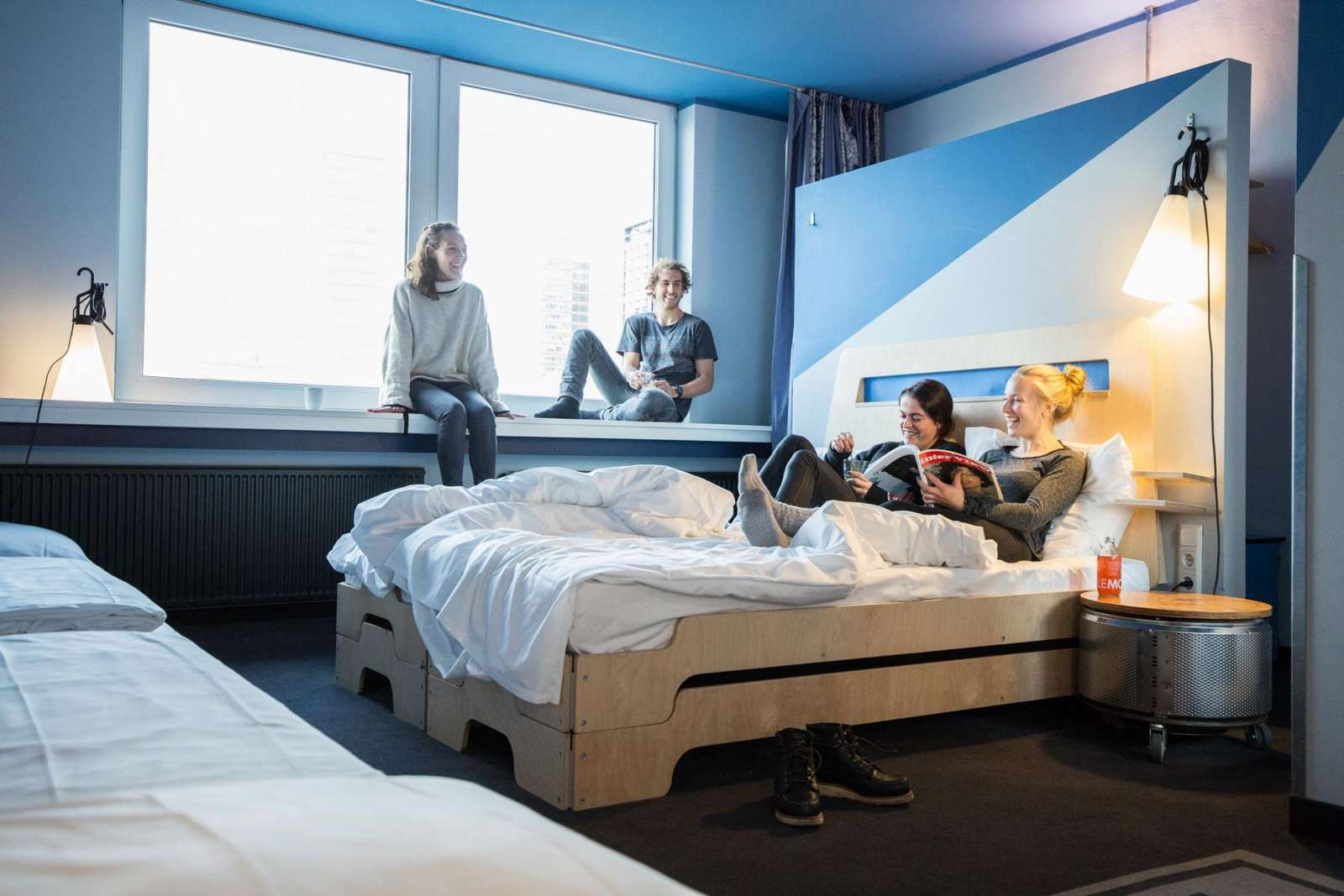 Lifestyle Superbude Hotel Hostel Hamburg 21
