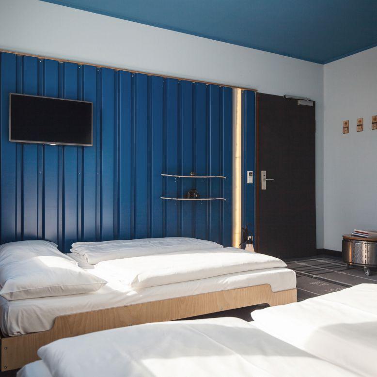 doppelbude plus f r bis zu 4 personen hostel hamburg st georg superbude. Black Bedroom Furniture Sets. Home Design Ideas