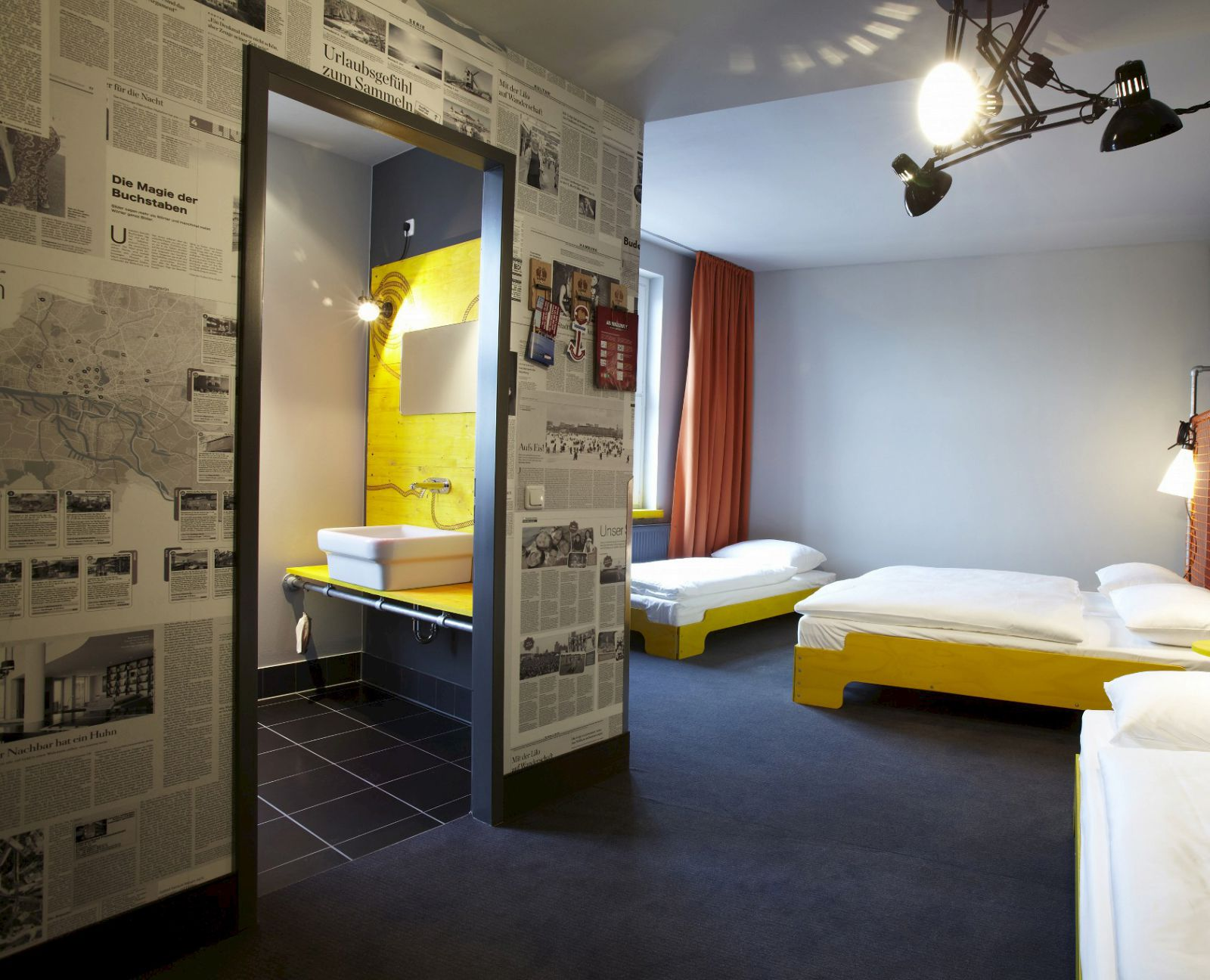 vierbettbude hostel hamburg st pauli superbude. Black Bedroom Furniture Sets. Home Design Ideas