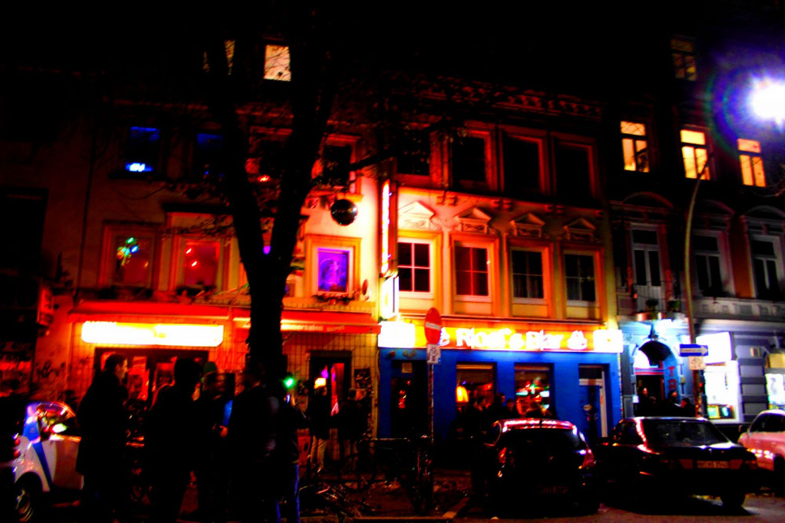 Hamburger Berg Reeperbahn Nightlife Party Clubs