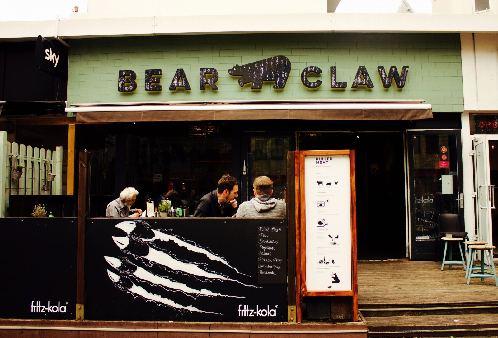 Restaurant St Georg Essen Hamburg Bear Claw Burger Berliner Tor 1