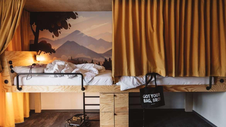 Four Bed Room Friends Hotel Vienna Prater Superbude